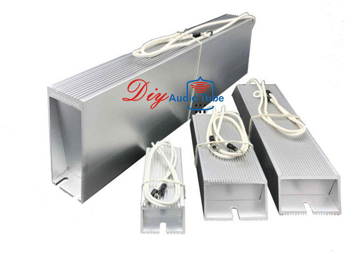 0R-492K 40W-2000W Power Supply Transducer Elevator Arena audio Aluminum Housing Wire Wound Resistors
